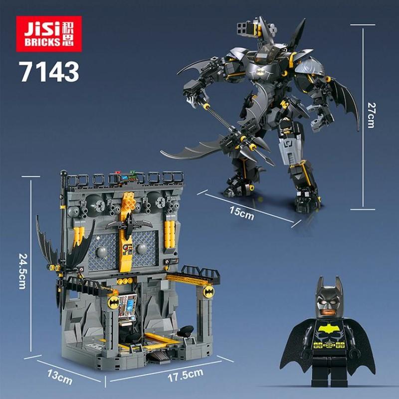 Конструктор 7143 JiSi Bricks Bat Mech