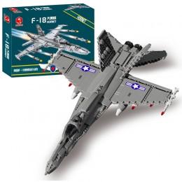 88005 JUHANG Палубный истребитель F-18 Hornet