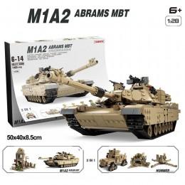 KY10000 KAZI Танк M1A2 ABRAMS и Hammer