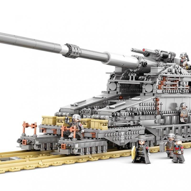 KY10005 Kazi Немецкое сверхтяжелое орудие Дора