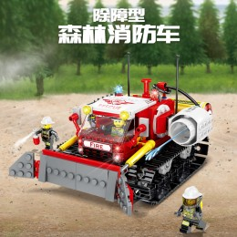 KY80527 Kazi Лесная пожарная машина для устранения препятствий