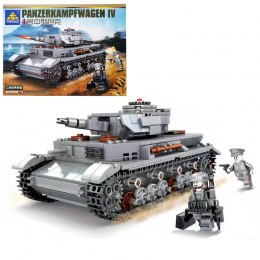 KY82045 Kazi Немецкий средний танк Panzerkampfwagen IV