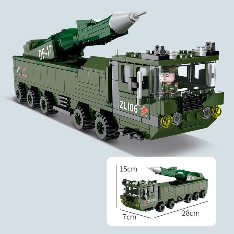 KY84095 Kazi Китайская баллистическая ракета DF-17