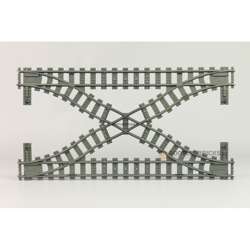 98215-6 Рельсы Железнодорожные - для двойного кроссовера