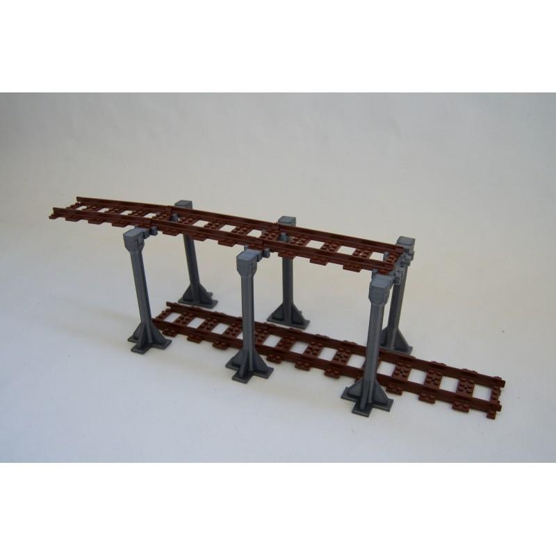 98215-M8-DUO Железнодорожные высокие опоры - (24 элемента)