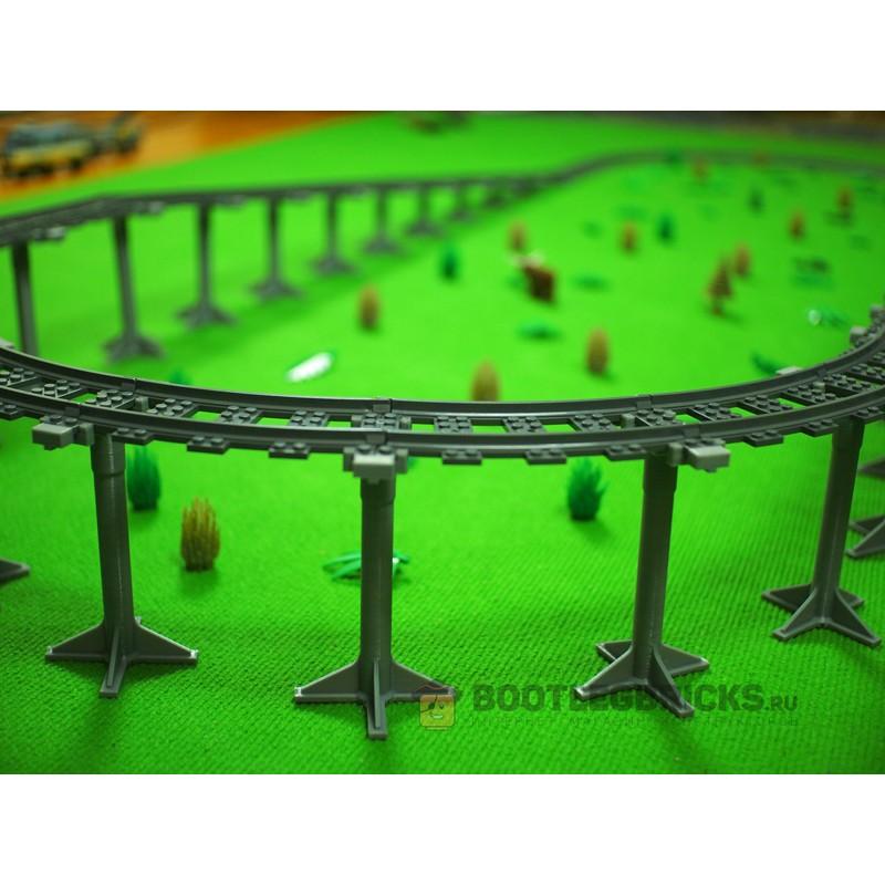 98215-PS Железнодорожные наклонные опоры - (19 элементов)