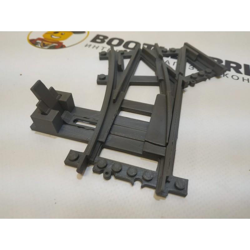 Конструктор Рельсы 98215-STR32LR - двойная стрелка, пересечение прямых и круга R320