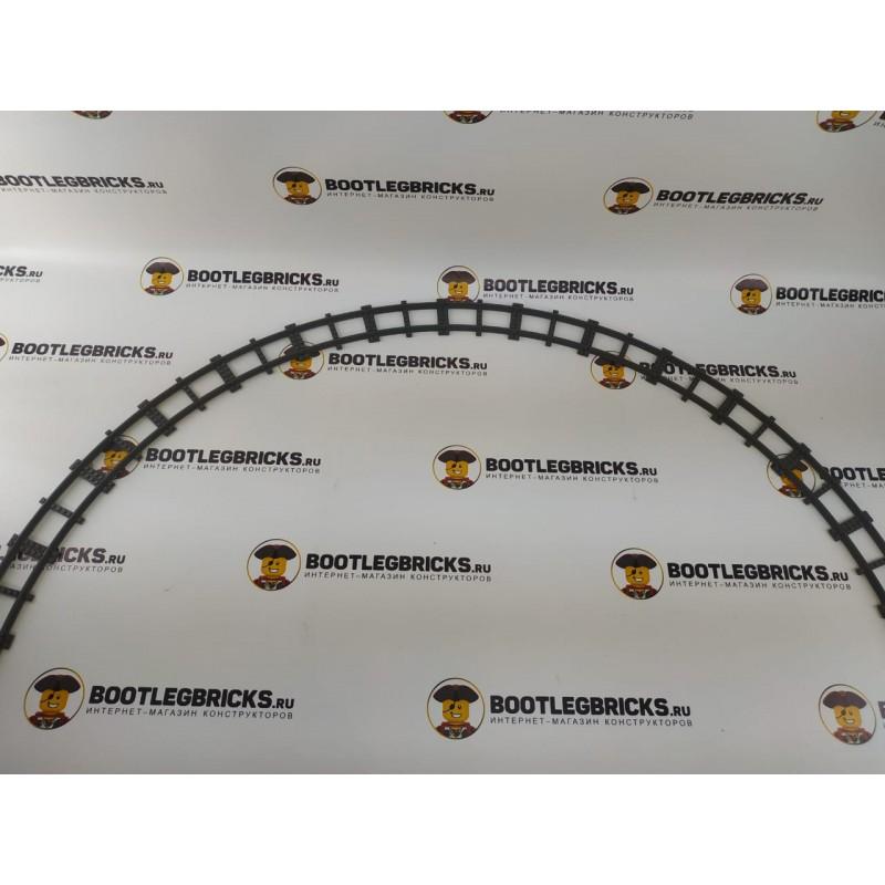 Конструктор Рельсы 98215-R56 - 32 элемента, полный круг 352 см