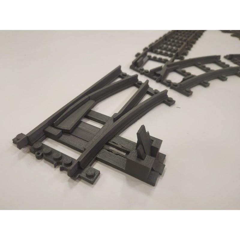 Конструктор Рельсы 98215-SET-T - развилка