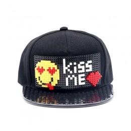 """Кепка-конструктор """"Kiss Me"""" - cl001"""