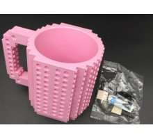 Кружка конструктор Розовая