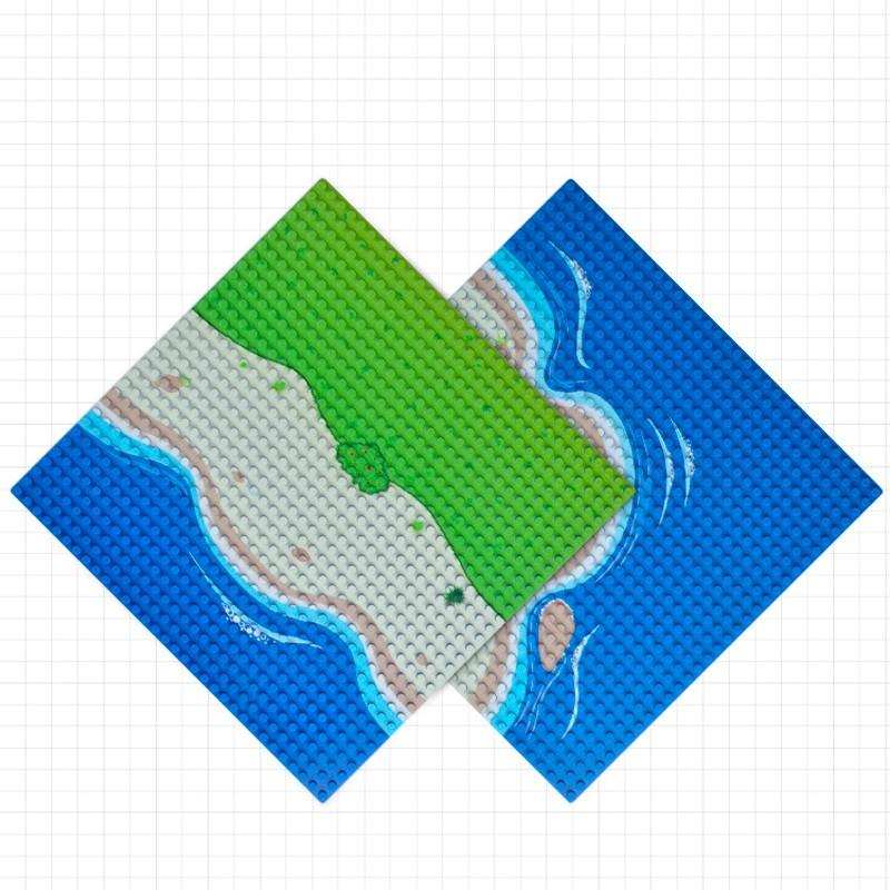0002bb LEPIN Пластина (остров, прямая часть)