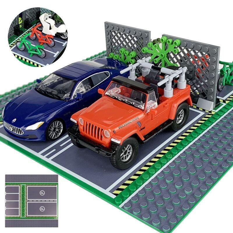 8815 LEPIN Парковка (строительная пластина)