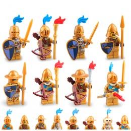 AX9802 LOJO 8 Золотых рыцарей Синей Короны