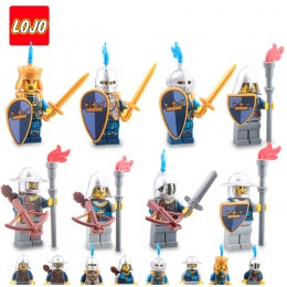 AX9803 LOJO Набор 8 минифигурок рыцарей