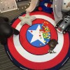"""Коврик-мешок для игры в Лего 150 см """"Капитан Америка"""""""