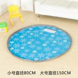 Коврик-мешок для игры в   150 см (синий)