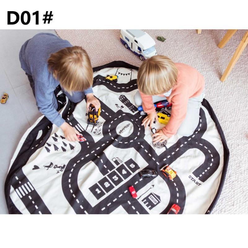 Коврик-мешок для игры в Лего 140 см