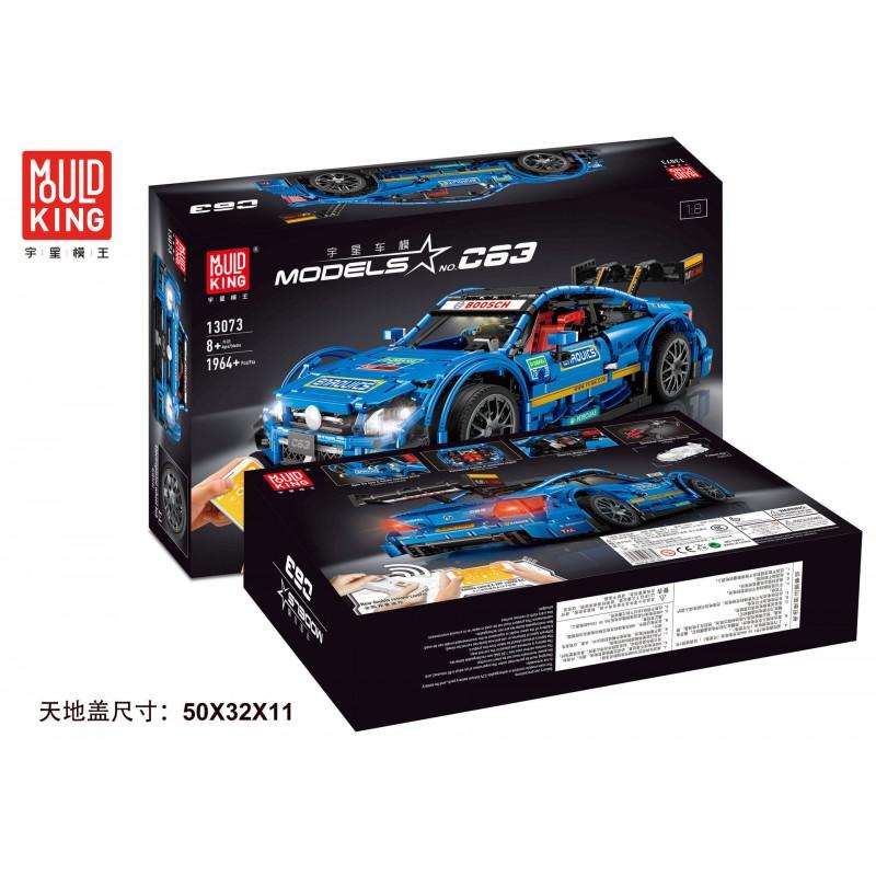 13073 MOULD KING Mercedes-Benz AMG C63 DTM 1:10 (С МОТОРИЗАЦИЕЙ)