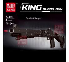 14003 MOULD KING Полуавтоматическое ружьё Benelli M4 Super 90
