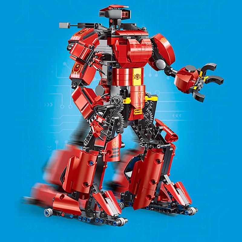 15038 MOULD KING Робот Багровый Тайфун