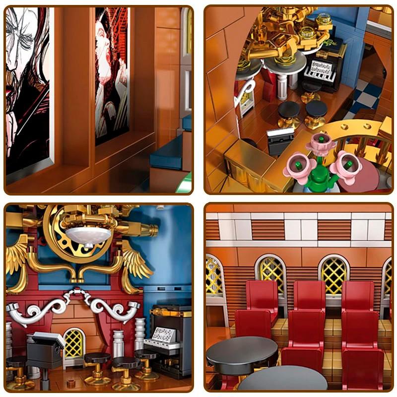 16032 MOULD KING Концертный зал