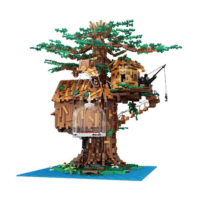 16033 MOULD KING Дом на дереве с подсветкой