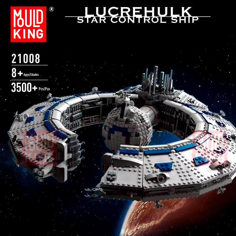 21008 MOULD KING Линейный корабль типа «Барышник» (Lucrehulk)