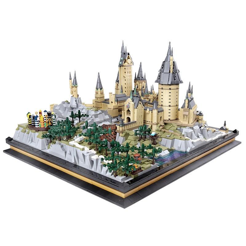 22004 MOULD KING Школа чародейства и волшебства Хогвартс
