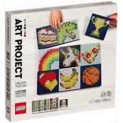 Краткий обзор уникального художественного набора «Лего».