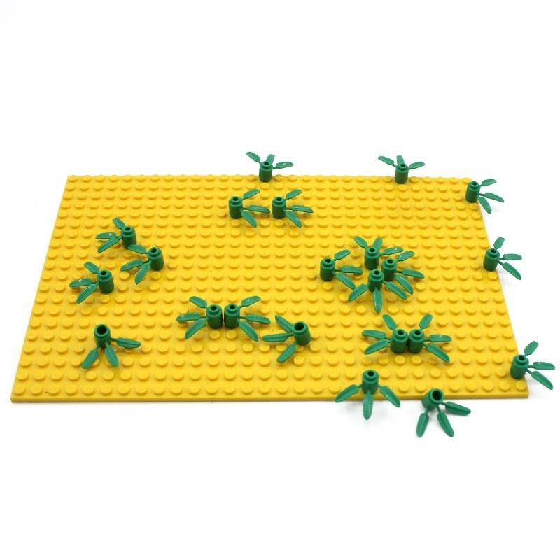 Лего растения - мелкая трава 200 шт