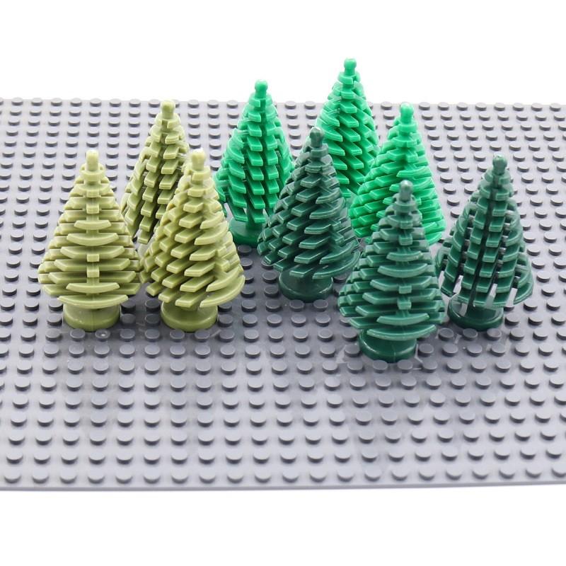 Лего растения - ель 30 штук