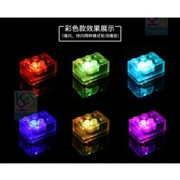 Светящиеся кубики ЛЕГО - 10 штук