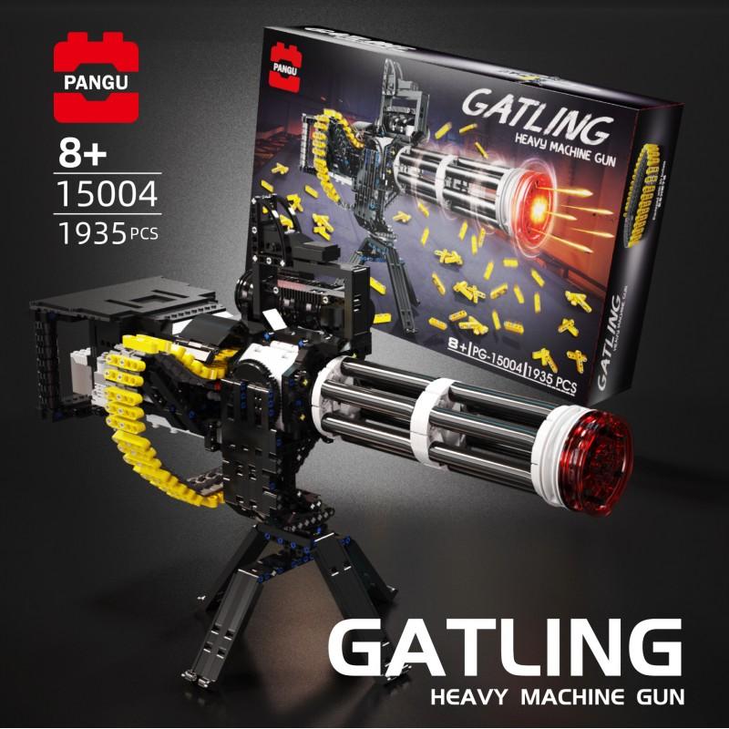 PG-15004 PANGU Тяжелый пулемет Гатлинга