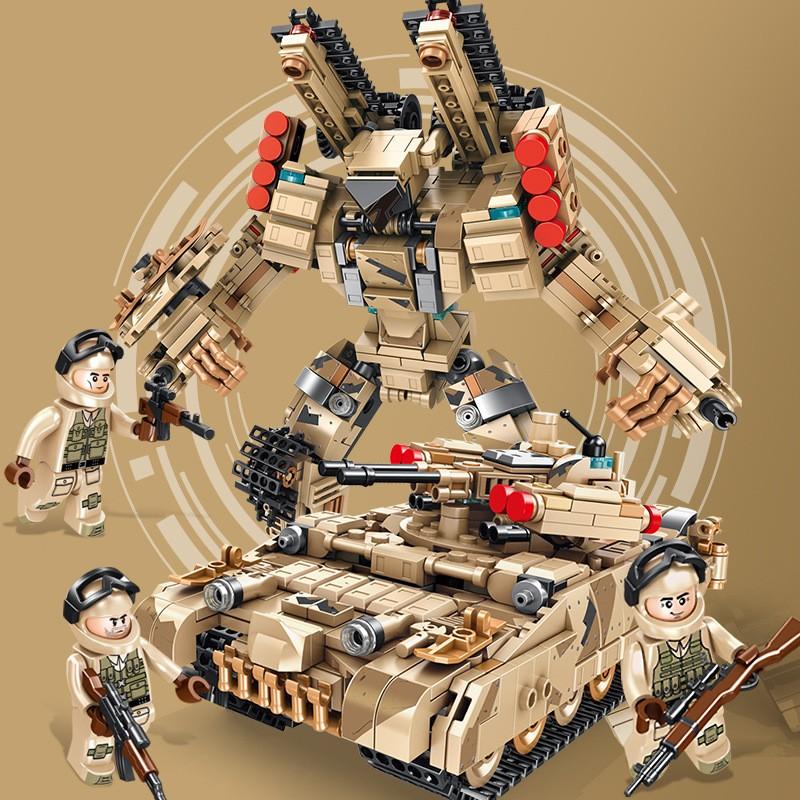 621023 Panlos Brick Трансформер - БМПТ Терминатор: 2 в 1