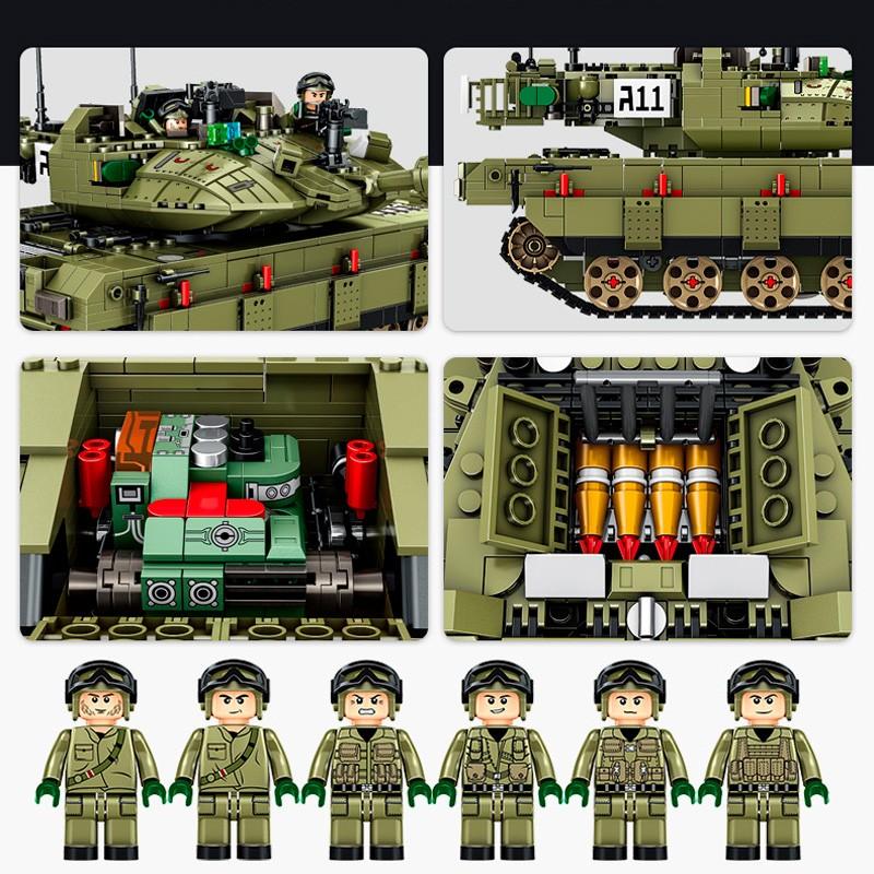 632009 Panlos Brick Основной боевой танк Меркава МК4