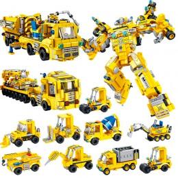 633027 Panlos Brick Трансформер - пожарно-спасательная команда (35 в 1)