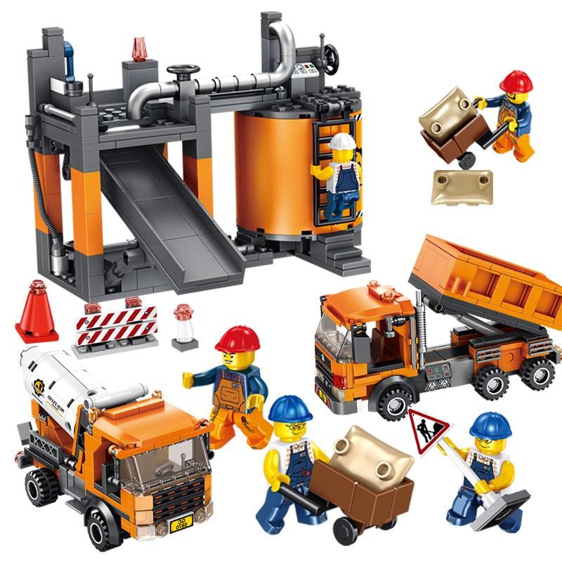 640013 Panlos Brick Строительная бригада: самосвал, бетономешалка и завод