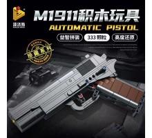 670007 Panlos Brick M1911 Браунинг самозарядный пистолет под патрон .45