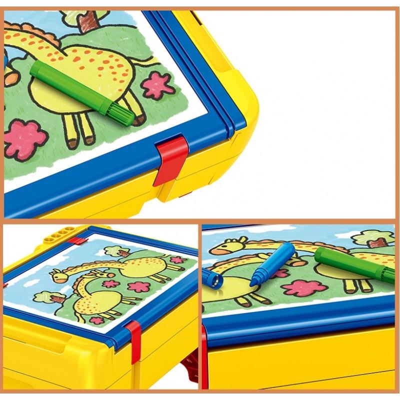 699010 PANLOS Стол для рисования и игры в Лего с ящиком