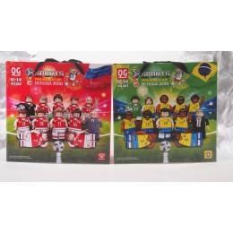 660 Quanguan Сборные России и Бразилии FIFA World Cup Russia 2018