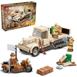 100121 Quanguan Военный грузовик Nissan