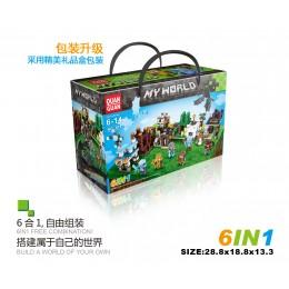 618 Quanguan Набор 6 в 1 Майнкрафт