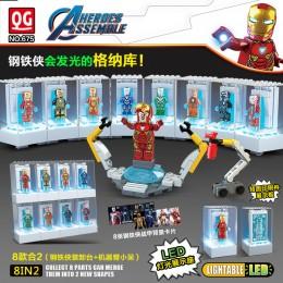 675 Quanguan Мстители Железный человек: набор 8 в 1
