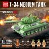 100063 Quanguan Советский средний танк Т-34