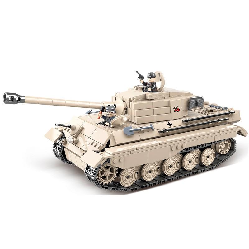 100066 Quanguan Немецкий тяжелый танк Королевский Тигр (King Tiger)