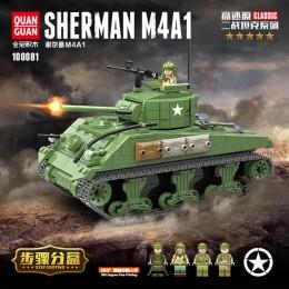 100081 Quanguan Танк Sherman M4A1