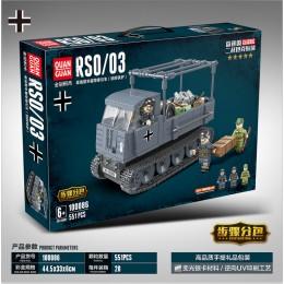 100086 Quanguan Гусеничный автомобиль ROS / 03