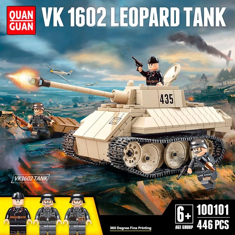 100101 Quanguan Немецкий танк VK 1602 Leopard