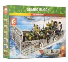 101362 Sembo Block Десантный корабль LCM3